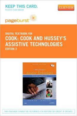 Cook and Hussey's Assistive Technologies - Pageburst Digital Book (Retail Access Card): Principles and Practice