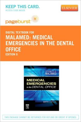 Medical Emergencies in the Dental Office - Pageburst Digital Book (Retail Access Card)