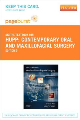 Contemporary Oral and Maxillofacial Surgery - Pageburst Digital Book (Retail Access Card)