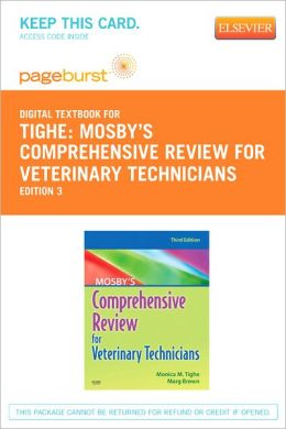 Mosby's Comprehensive Review for Veterinary Technicians - Pageburst Digital Book (Retail Access Card)