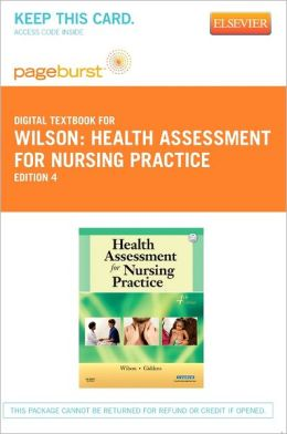 Health Assessment for Nursing Practice - Pageburst Digital Book (Retail Access Card)