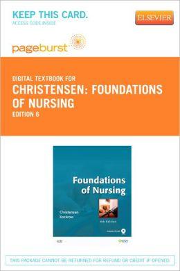 Foundations of Nursing - Pageburst Digital Book (Retail Access Card)