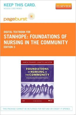 Foundations of Nursing in the Community - Pageburst Digital Book (Retail Access Card): Community-Oriented Practice