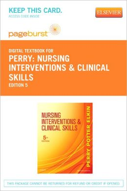 Nursing Interventions & Clinical Skills - Pageburst Digital Book (Retail Access Card)