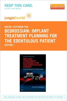 Implant Treatment Planning for the Edentulous Patient - Pageburst Digital Book (Retail Access Card)