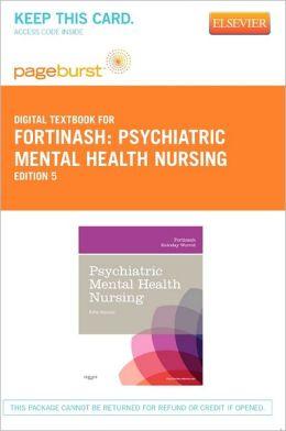 Psychiatric Mental Health Nursing - Pageburst Digital Book (Retail Access Card)