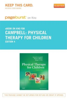 Physical Therapy for Children - Pageburst E-Book on Kno (Retail Access Card)