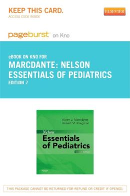 Nelson Essentials of Pediatrics Pageburst E-Book on Kno (Retail Access Card)