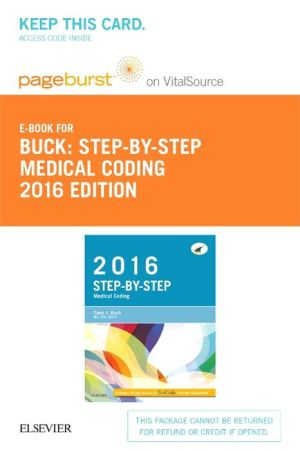 Step-By-Step Medical Coding, 2016 Edition - Elsevier E-Book on Vitalsource (Retail Access Card)