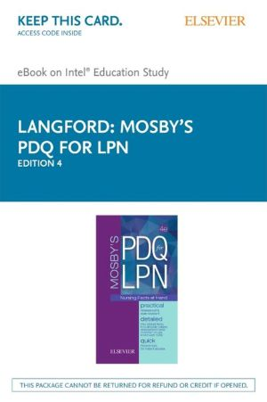 Mosby's PDQ for LPN - Elsevier E-Book on Intel Education Study (Retail Access Card)