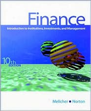 Finance: Introduction to Institutions, Investments and Management