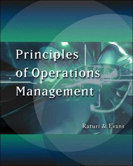 Principles of Operations Management (with CD-ROM and InfoTrac )