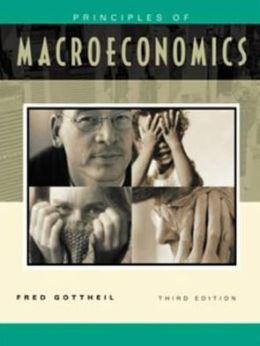 Principles of Macroeconomics/with Infotrac