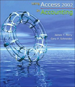 Using Access 2002 In Accounting