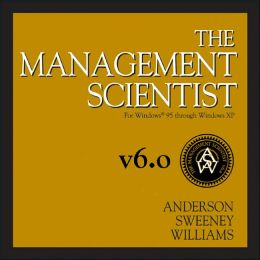 The Management Scientist, Version 6.0