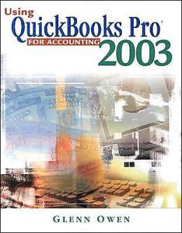 Using QuickBooks? Pro 2003 For Accounting