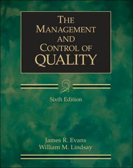 The Management and Control of Quality (with CD-ROM and InfoTrac )