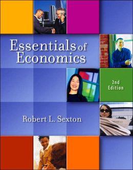 Essentials of Economics (with InfoTrac )
