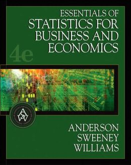 statistics for business and economics anderson pdf