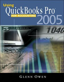 Using QuickBooks? Pro 2005 for Accounting (with CD-ROM)