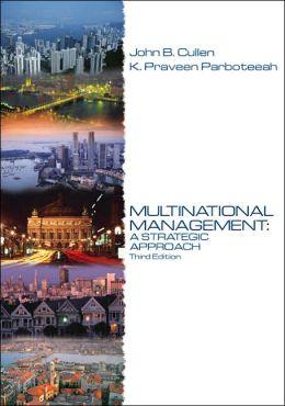 Multinational Management: A Strategic Approach