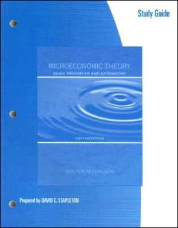 Study Guide to accompany Microeconomic Theory: Basic Principles and Extensions