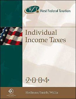West Federal Taxtion: Individual Income Taxes 2004