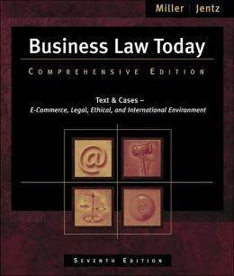 Business Law Today: Comprehensive (with Online Legal Research Guide)