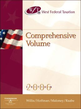 West Federal Taxation: Comprehensive Volume