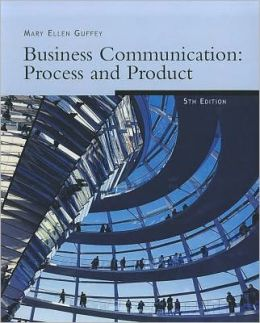 Freedom B/W Version: Business Communication: Process & Product