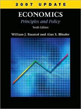 Economics: Principles and Policy, 2007 Update