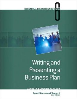 Module 6: Writing and Presenting a Business Plan