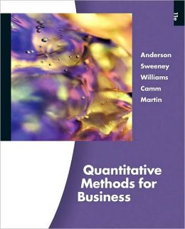 Quantitative Methods for Business (with Printed Access Card)