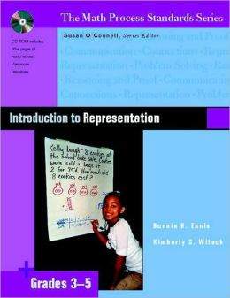 Introduction to Representation: Grades 3-5 (Math Process Standards Series)