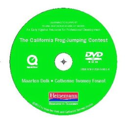The California Frog-Jumping Contest DVD: For Learning to Support Young Mathematicians at Work