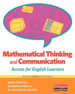 Mathematical Thinking and Communication: Access for English Learners