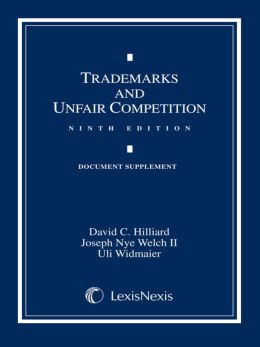 Trademarks and Unfair Competition: Documentary Supplement