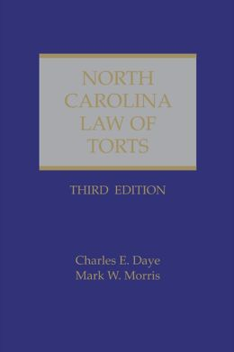 North Carolina Law of Torts