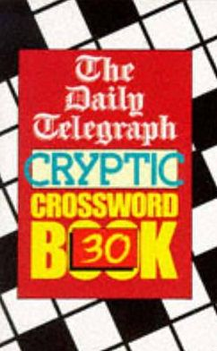 Daily Telegraph Cryptic Crossword Book: #30