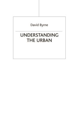 Understanding the Urban