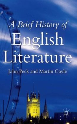 a brief history of english literature English literature is the study of literature written in the english language the writers do not necessarily have to be from england but can be from all over the world.
