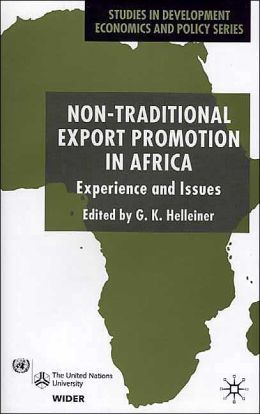 Non-Traditional Export Promotion In Africa: Experience and Issues