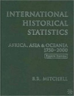 International Historical Statistics: The Americas 1750-2000