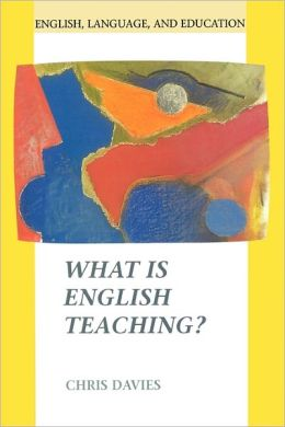 What Is English Teaching?