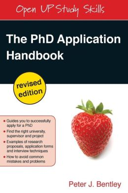 The PhD Application Handbook