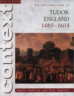 An Introduction to Tudor Britain 1485-1603