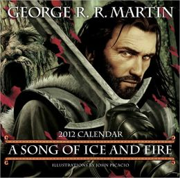 2012 Song of Ice and Fire 2012 Wall Calendar