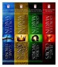 Book Cover Image. Title: A Game of Thrones 4-Book Bundle:  A Song of Ice and Fire Series: A Game of Thrones, A Clash of Kings, A Storm of Swords, and A Feast for Crows, Author: George R. R. Martin