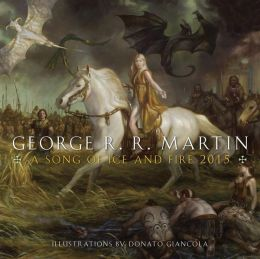 2015 Song of Ice and Fire Wall Calendar