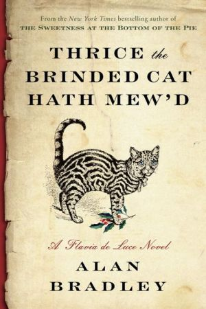 Thrice the Brinded Cat Hath Mew'd